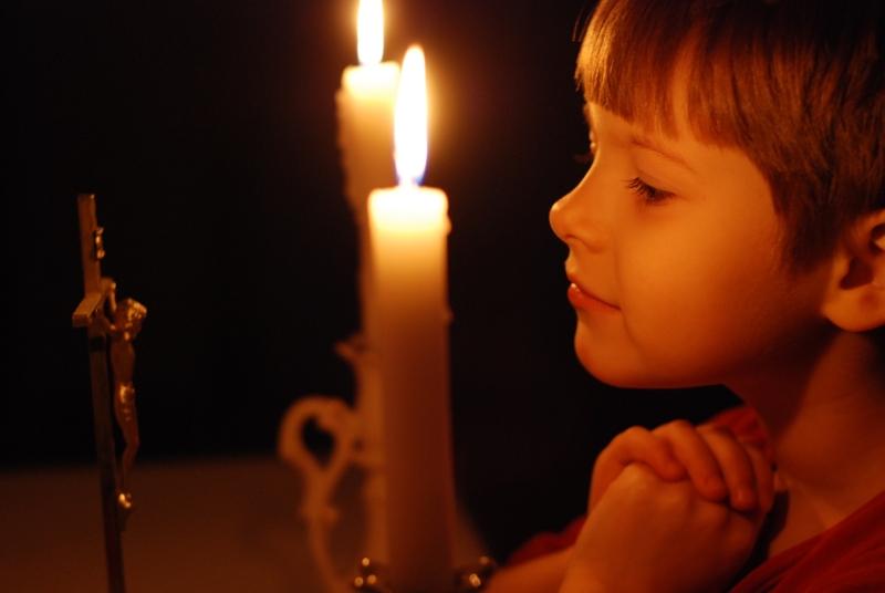 Молитва дітей за батьків