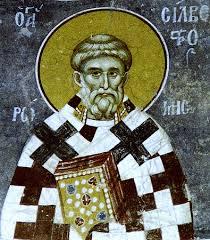 """Результат пошуку зображень за запитом """"Святого отця нашого Сильвестра, папи Римського"""""""